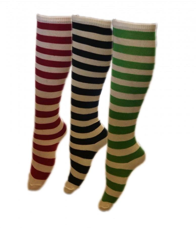 Girls Stripped Socks